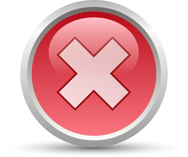 Icons Trading Error Log: Free Vector Graphic: Cancel, No, Symbol, Sign, Wrong