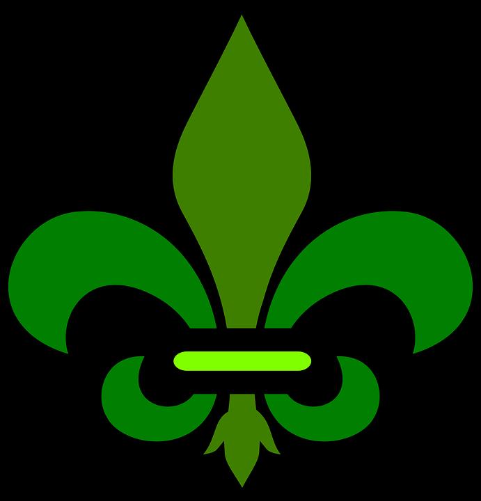 Fleur De Lis Decoration Design Free Vector Graphic On Pixabay