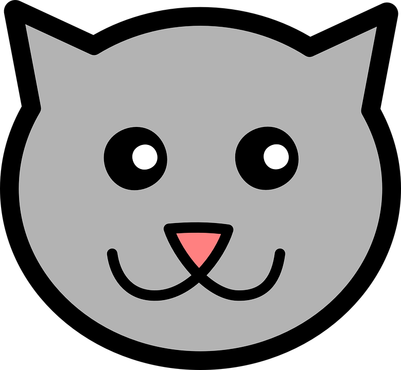 Baby Cat Face Free Vector Graphic On Pixabay