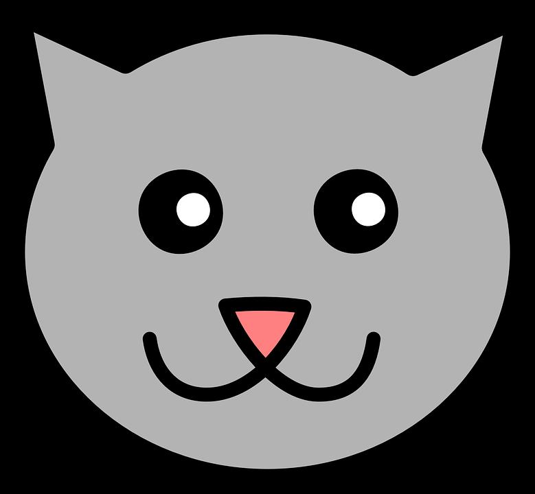 Bebé Gato Cara Gráficos Vectoriales Gratis En Pixabay