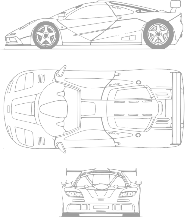 Ferrari Auto Transport · Kostenlose Vektorgrafik auf Pixabay