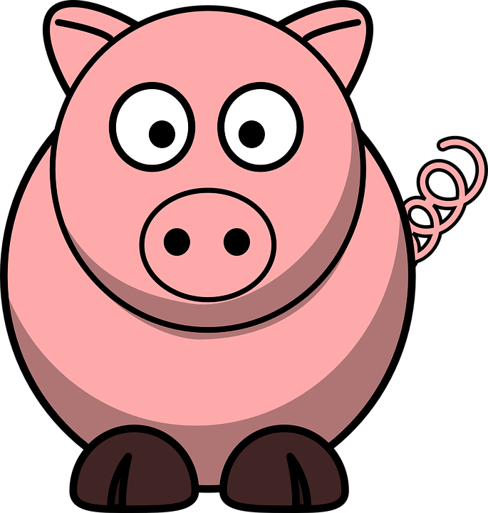 pig animal piglet free vector graphic on pixabay