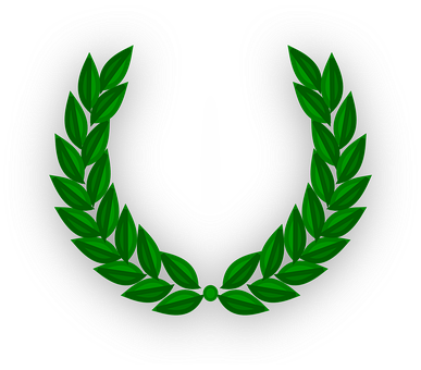 Laurel Wreath Design Decoration Symbo