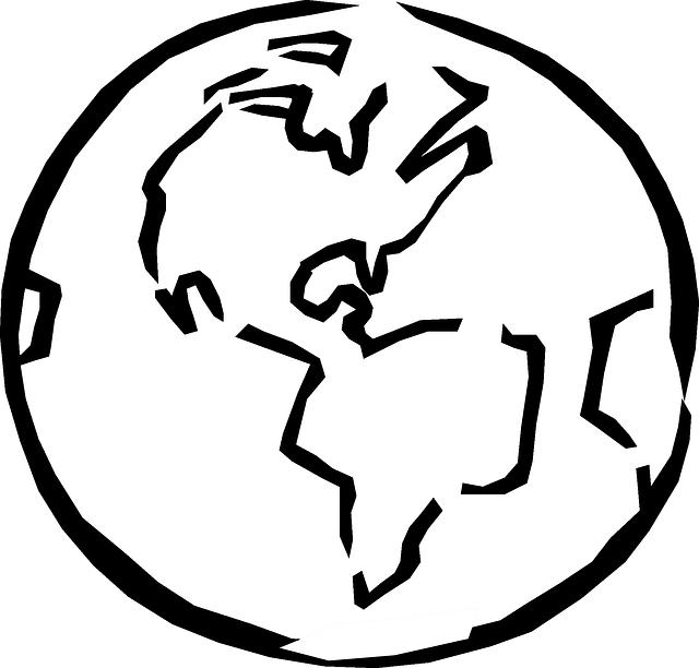 globe world planet  u00b7 free vector graphic on pixabay
