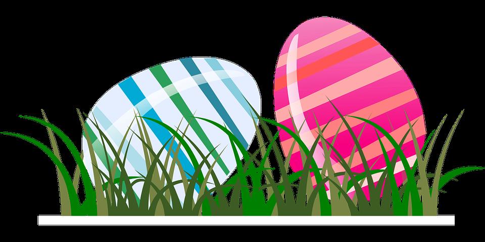 Primavera, Erba, Uova, Pasqua, A Righe, Strisce