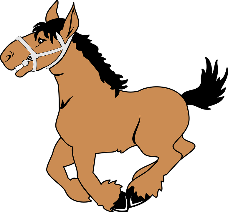 6300 Koleksi Gambar Hewan Kartun Kuda Gratis
