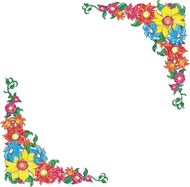 Border Flowers Floral · Free Vector Graphic On Pixabay