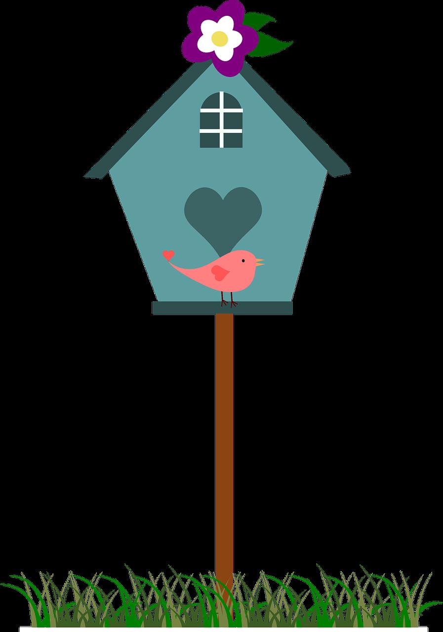Картинка для детей скворечник