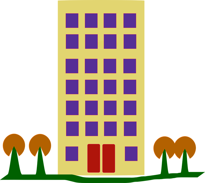 Building Tall Housing Free Vector Graphic On Pixabay