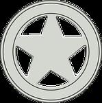sheriff, badge, police