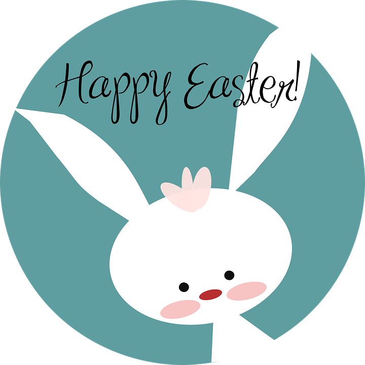 Happy Easter Spring - Free vector graphic on Pixabay