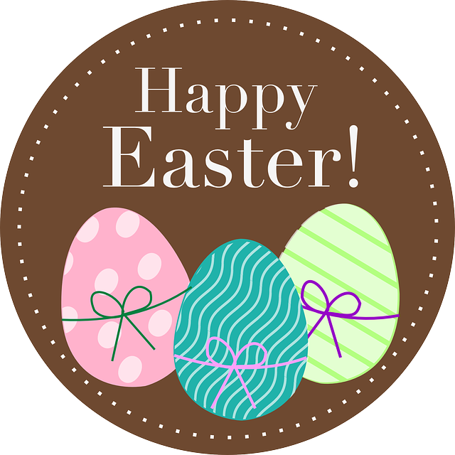 Happy Easter Spring · Free vector graphic on Pixabay
