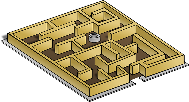 Maze Game Lost · Free vector graphic on Pixabay