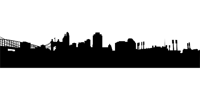 Chicago Skyline Outline Drawing