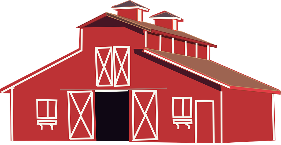 Free vector graphic: Red, House, Home, Barn, Farm - Free ...