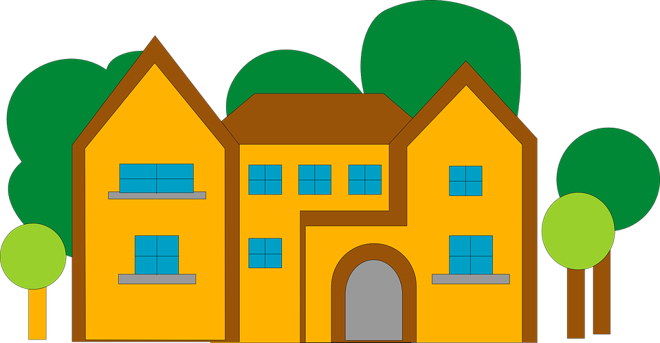 house home large free vector graphic on pixabay rh pixabay com school building vector png city building vector png