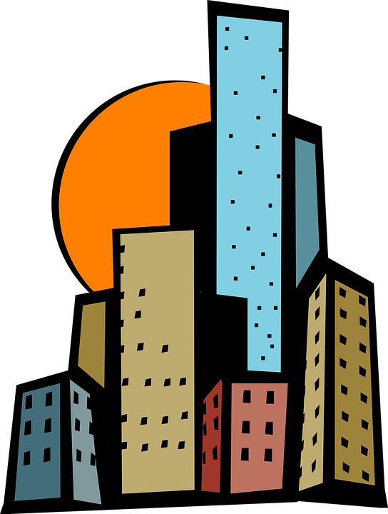 buildings city sun free vector graphic on pixabay rh pixabay com vector builders international vector builders + fort worth