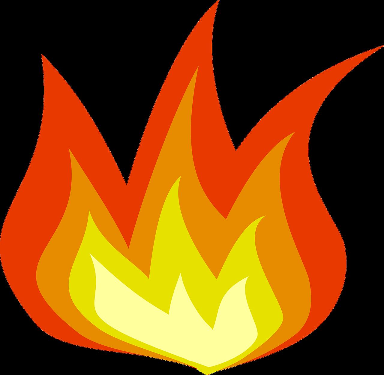 Пламя рисунок для детей
