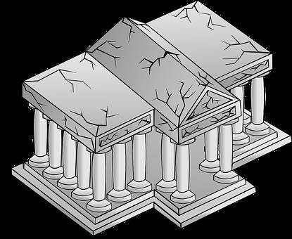 Temple, Architecture, Greek, Building