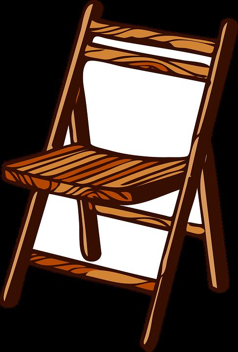 kostenlose vektorgrafik stuhl holz falten m bel sitz. Black Bedroom Furniture Sets. Home Design Ideas