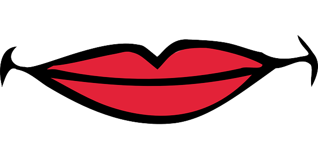 Lips Mouth Smiling 183 Free Vector Graphic On Pixabay