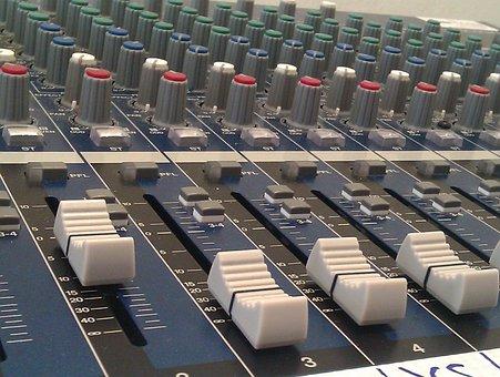 Misturador, Fader, Yamaha, Áudio