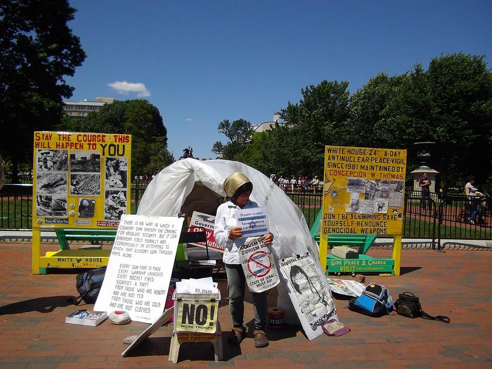 Protestující, Politické, Svoboda, Demonstrace, Protest