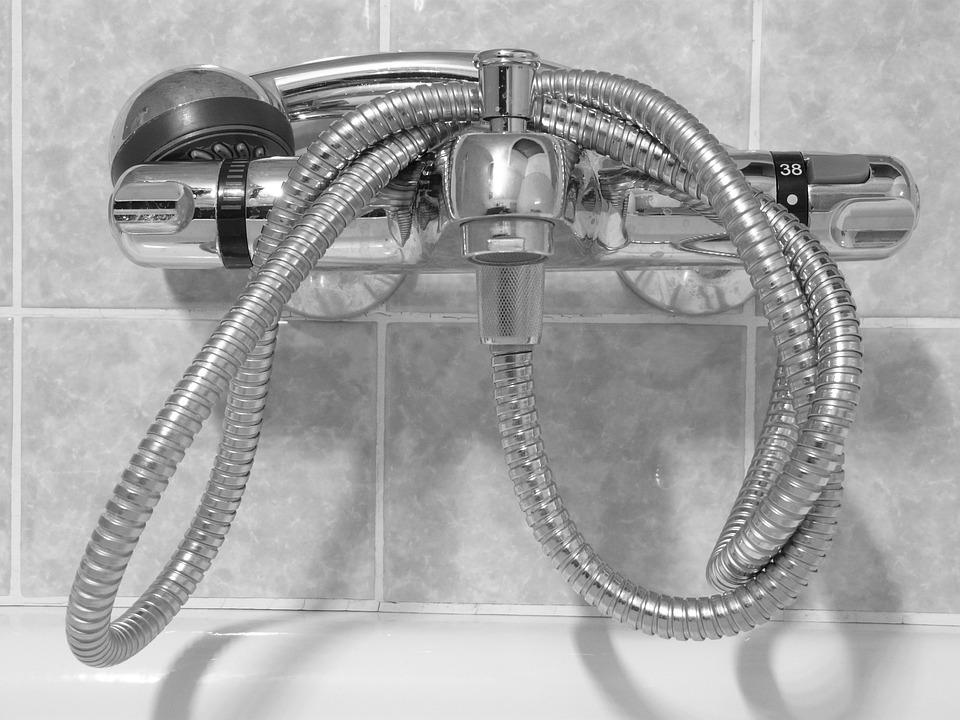 Free photo: Shower Head, Valve, Shower, Bath - Free Image on ...