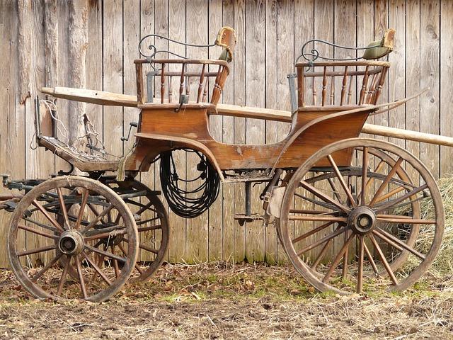 free photo coach horse drawn carriage wagon free