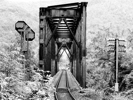 Bridge, Railway Bridge, Rail, Rail Track