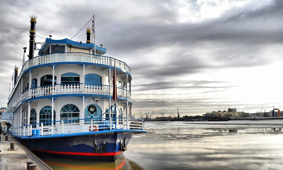 船, ポート, 外輪汽船, 汽船, パドル ウィーラー, 川船, リバーボートクルーズ, 旅客船