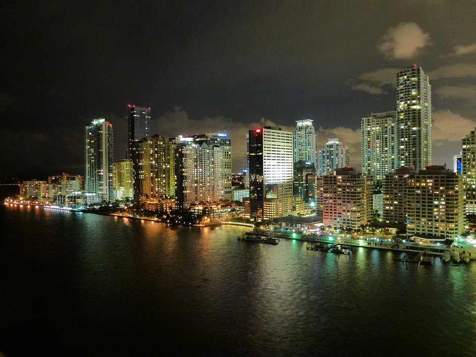Free Photo Miami Florida Skyline City Free Image On