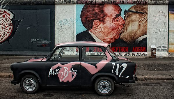 Berlin Wall, East Side, Berlin, Germany