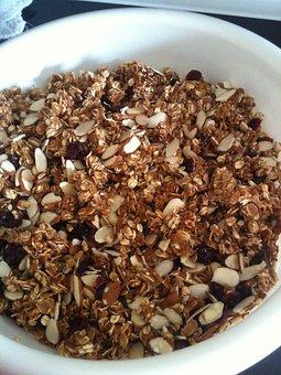 Food, Granola, Bowl, Healthy, Breakfast