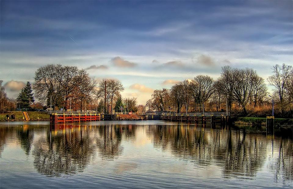 Free photo: Lock, Fürstenwalde, Channel, Water - Free Image on ...