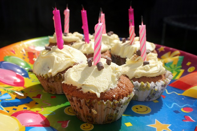 Free Photo Cupcake Candles Birthday Party Free Image