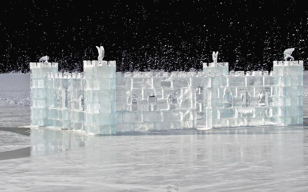 фото ледяных замков книжка