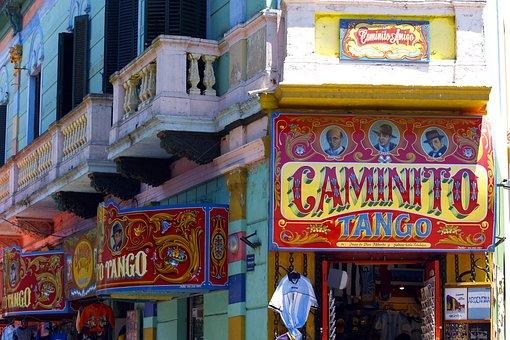 Caminito, Facade, Buenos Aires
