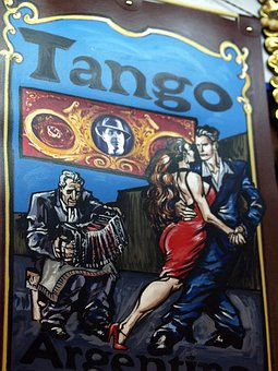 Painted, Argentina, Advertisement, Tango