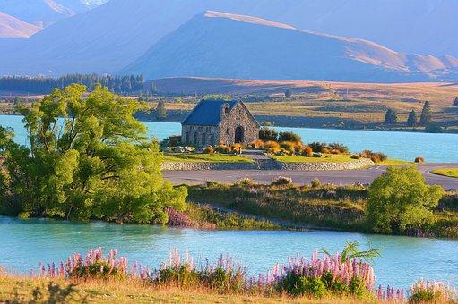 Lago Tékapo, Nueva Zelanda, Iglesia
