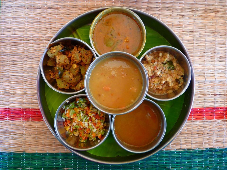 Protein Rich Vegetarian Food: Thali, Indian Cuisine, Eat, Meal, Tasty, Food