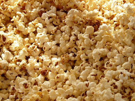Popcorn Corn Cinema Grains Sweet Salty Sna