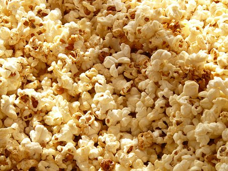 Popcorn Corn Cinema Grains Sweet Salt