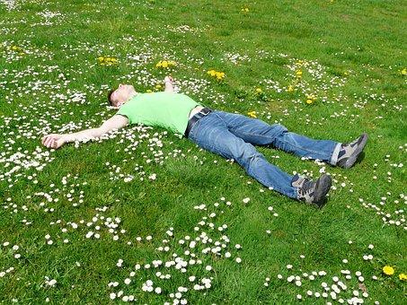 Rest, Relax, Concerns, Cozy, Sleep, Man