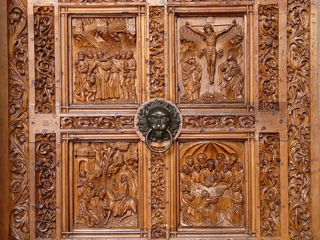 wood carving doors coloring pages - photo#18
