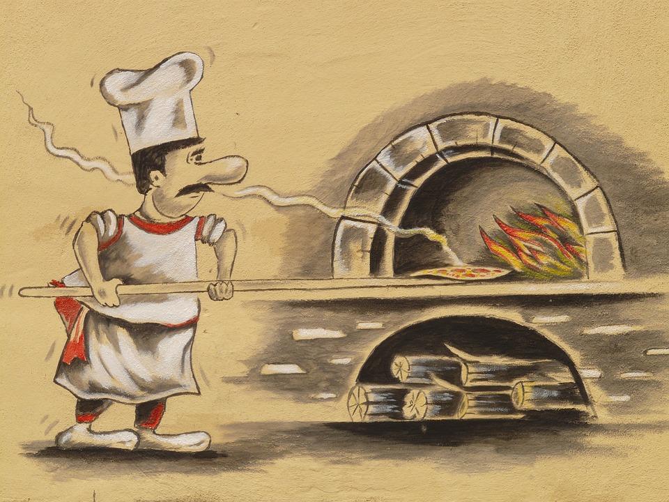 Pizza Maker, Pizzeria, Forno Pizza, Chef, Pizza