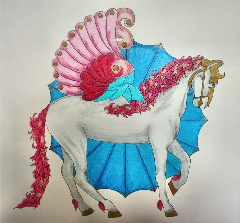 Geflügelt Pferd Tier · Kostenloses Foto auf Pixabay