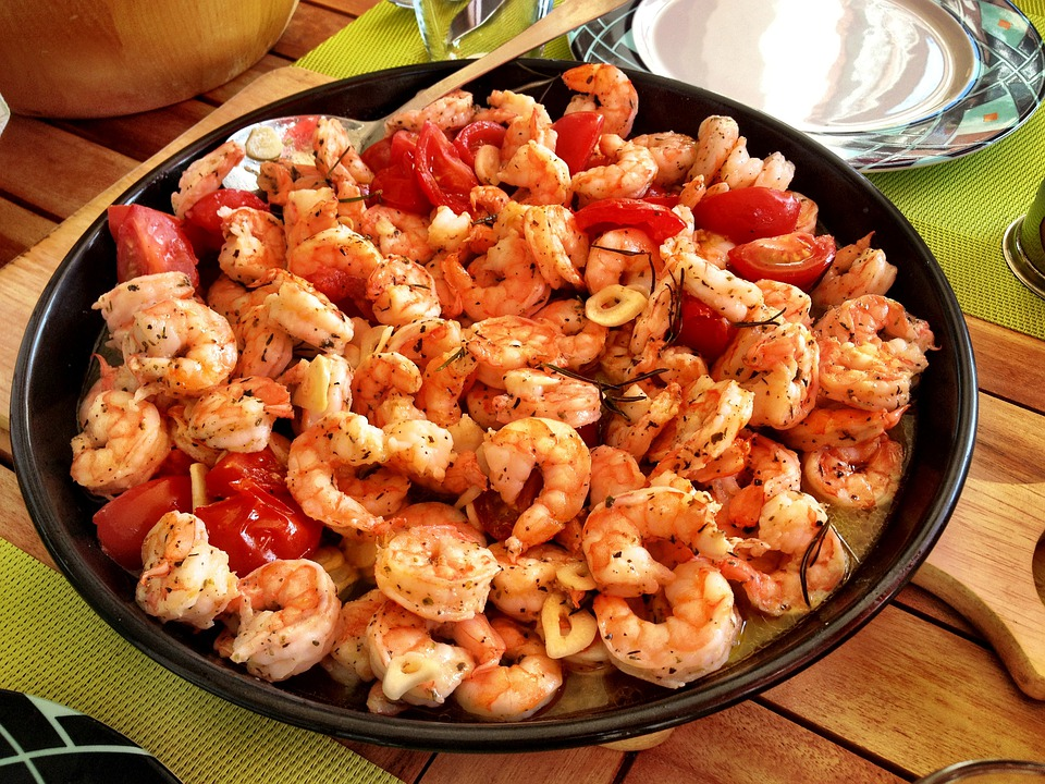 Prawns Food Seafood Free Photo On Pixabay