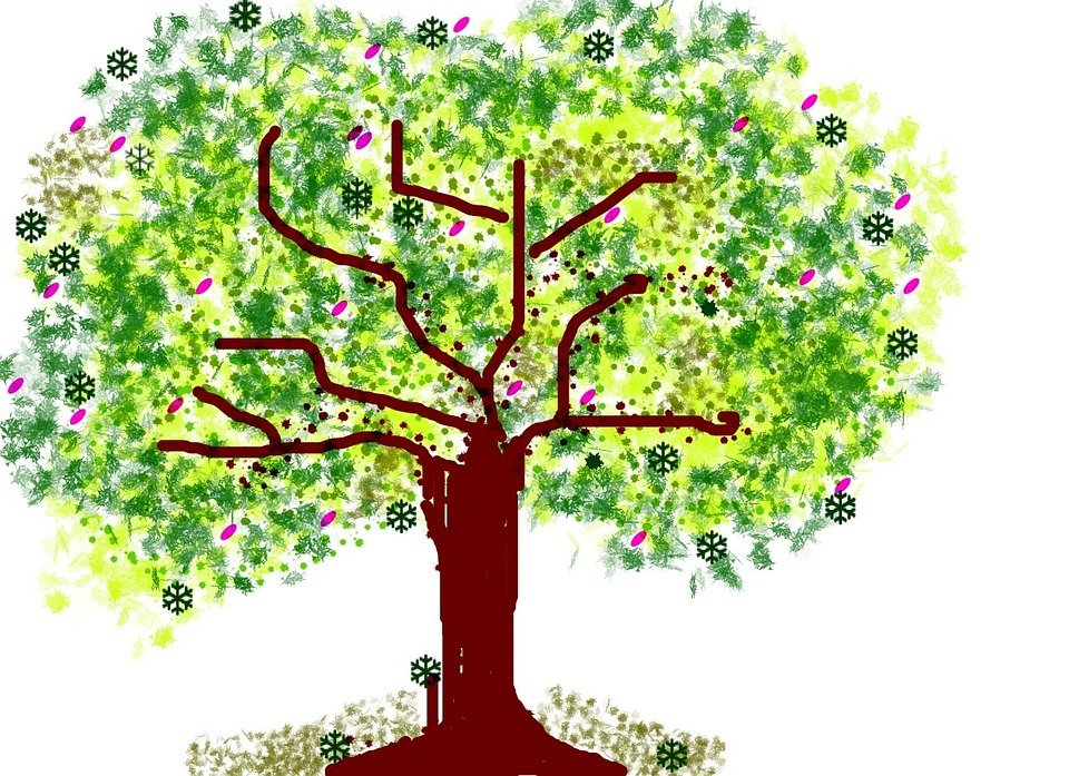 Arbre nature dessin photo gratuite sur pixabay - Dessin de nature ...