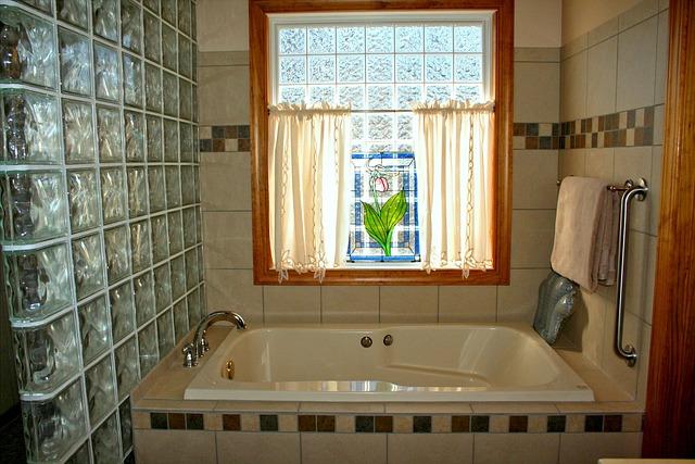 Bathtub Stained Glass Window Pink 183 Free Photo On Pixabay